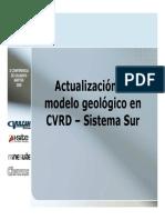 Actualizacion Geologica en CVRD