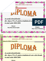 Diplome Exemple