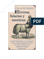 Villanueva Hering Peter - Errores Falacias Y Mentiras.doc