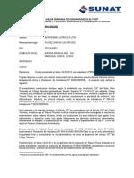Carta Comuncado Recurso Aclaración INVERSIONES LATINO SRL