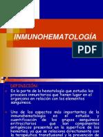 Clase III - INMUNOHEMATOLOGÍA.ppt