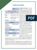 Materia Militar Informe