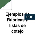 ejemplos de rubricas  ylistas de cotejo.pdf