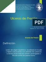 Úlceras Por Presión. Cirugía Plastica