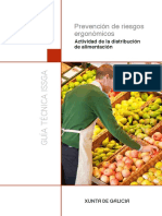 Prevencion Riesgos Ergonomicos Distribucion Alimentacion
