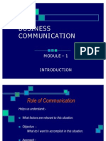 Business Communication Module1