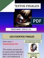 657LOS EVENTOS FINALES.ppt
