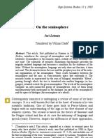 Lotman_On the Semiosphere