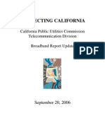 Calif. PUC Broadband Update report