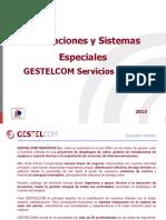 Proyectos Especiales GESTELCOM 20013