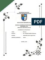 Informe de Laboratorio N.º 01  FENOMENOS ELECTROSTÁTICOS