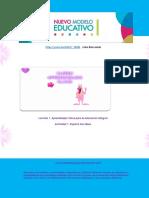 CURSO DEL MODELO EDUCATIVO