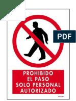IMÁGEN prohibido el paso