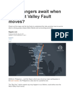 What Dangers Await When the West Valley Fault Moves