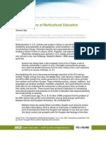 Gen-Ed Multicultural Literacy Rubric 011006
