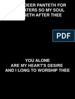 You Alone.ppt
