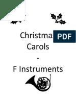 Christmas Carols F Book