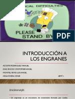 Introduccion a Los Engranes
