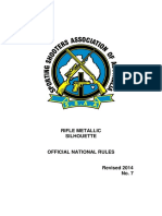 Rifle Metallic Silhouette Rule Book