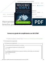 Herramienta Gratuita de Análisis de Brecha Para ISO 27001