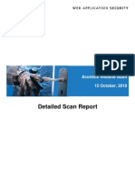 Web Vulnerability Report
