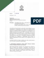 Procuraduría pide a la Corte fiscal Ad hoc para preservar independencia en caso Odebrecht