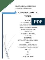 proyecto tuneles