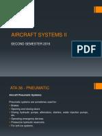 Aircraft Systems - Neumática