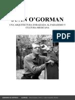 Juan o'Gorman-la Arquitectura Enraizada a La Tierra