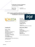 PCIA Application for Rehearing, From the CalCCA 11-19-18