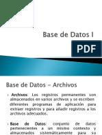 Presentacion I parte Base de Datos I.pptx