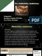 Diseño de Los Materiales Ceramicos