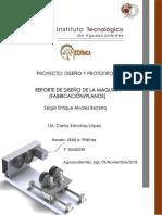 Diseño de accesorio rotatorio (Planos)