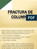 Fractura de Columna