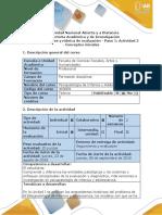 1 Guía de Actividades y Rubrica de Evaluación -Paso