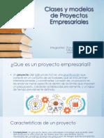 Clases y Modelos de Proyectos Empresariales