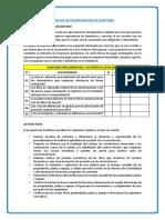 Modelos de Programación de Auditoria