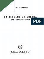 Bambirra Vania - La Revolucion Cubana - Una Reinterpretacion