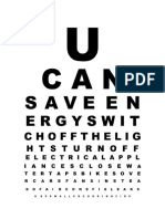 Eye Chart Template 07