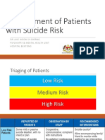 Management of Patients With Suicide Risk