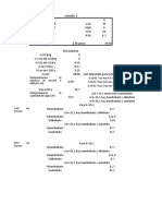 Proporciones de Componentes Del Yeso
