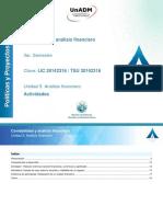 Unidad3 Analisis Financiero Actividades
