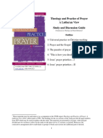 Prayer Study Document