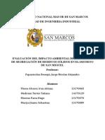 Evaluación de Impacto Ambiental TRABAJO 2018 2 Último