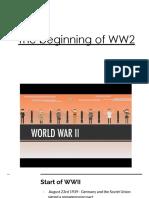 the beginning of ww2