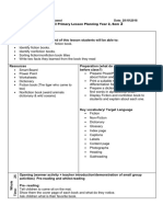 fiction and nonfiction lesson plan