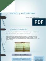Glosas y Milanenses