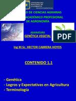 Primera Clase Genética Vegetal