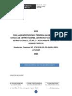 Base Consurso CAS-2018