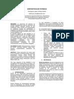 Distorsión Armónica en Redes Públicas de Baja Tensión